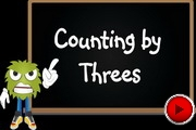 Counting threes video