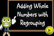 Adding Whole Numbers With Regrouping video