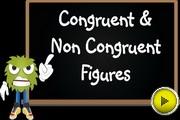 Congruent non Congruent Figures video