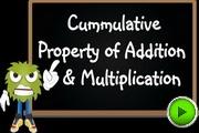 Cummulative Property Addition Multiplication video