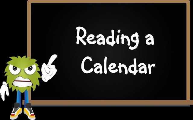 Reading Calendar video