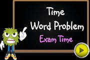 Time Word Problem Exam Time video