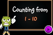 Counting 1 to 10 video