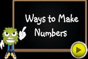Ways to Make Numbers video