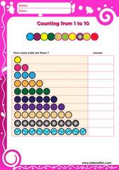 Counting pyramid
