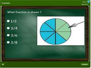grade 1 Fractions