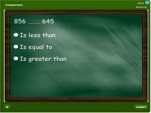 grade 2 Comparison