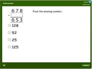 grade 3 Subtraction