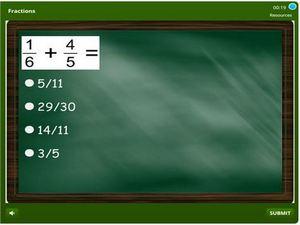 grade 4 Fractions