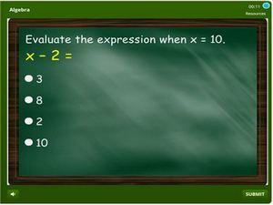 grade 5 Algebra