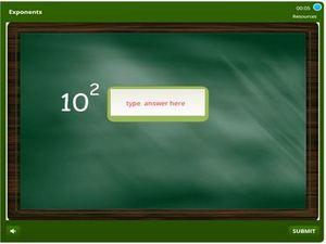 grade 5 Exponents