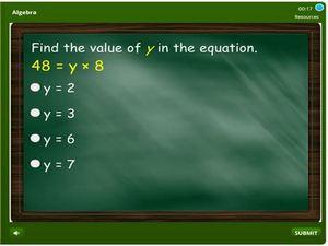 grade 6 Algebra
