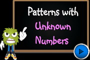 Patterns-Unknown-Numbers